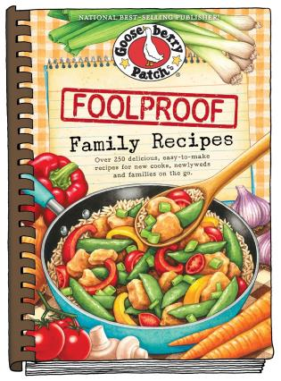 Cover image for the book Foolproof Family Recipes