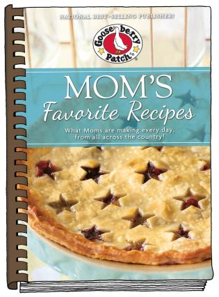 Cover image for the book Mom's Favorite Recipes: Updated with new photos