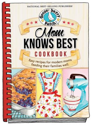 Cover image for the book Mom Knows Best Cookbook