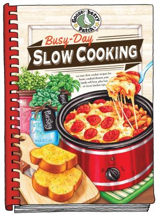 Cover image for the book Busy-Day Slow Cooking Cookbook