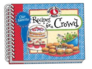 Cover image for the book Our Favorite Recipes for a Crowd
