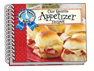Cover image for the book Our Favorite Appetizer Recipes with Photo Cover