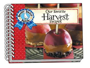 Cover image for the book Our Favorite Harvest Recipes with photo cover