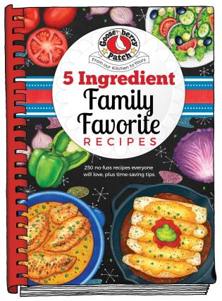 Cover image for the book 5 Ingredient Family Favorite Recipes