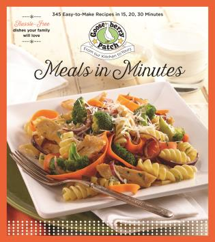 Cover image for the book Meals In Minutes: 15, 20, 30