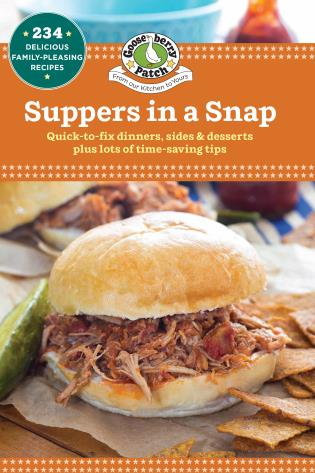 Cover image for the book Suppers in a Snap