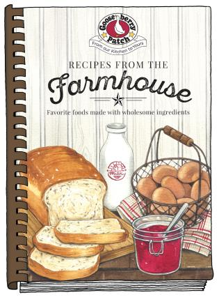 Cover image for the book Recipes from the Farmhouse