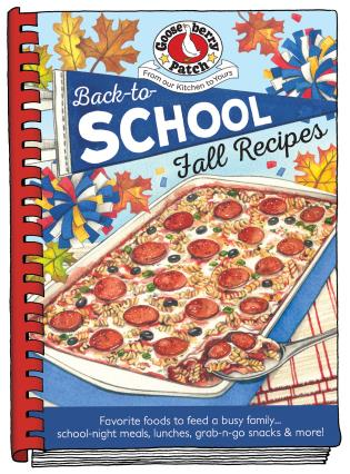 Cover image for the book Back-To-School Fall Recipes