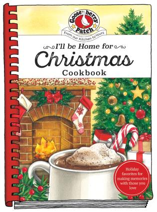 Cover image for the book I'll be Home for Christmas Cookbook