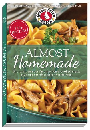 Cover image for the book Almost Homemade: Shortcuts to Your Favorite Home-Cooked Meals Plus Tips for Effortless Entertaining
