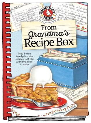 Cover image for the book From Grandma's Recipe Box