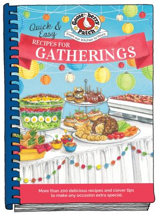 Cover image for the book Quick & Easy Recipes for Gatherings