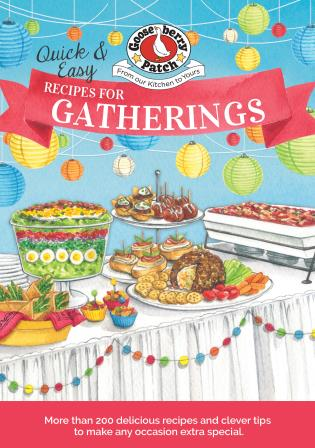 Cover image for the book Quick & Easy Recipes for a Gathering