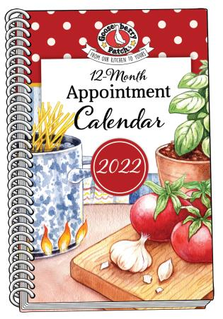 Cover image for the book 2022 Gooseberry Patch Appointment Calendar
