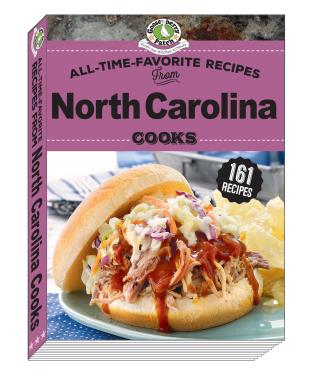 Cover image for the book All Time Favorite Recipes from North Carolina Cooks