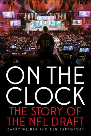 Cover image for the book On the Clock: The Story of the NFL Draft