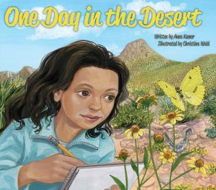 Cover image for the book One Day in the Desert