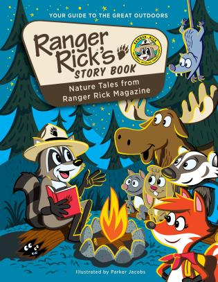 Cover image for the book Ranger Rick's Storybook: Favorite Nature Tales from Ranger Rick Magazine