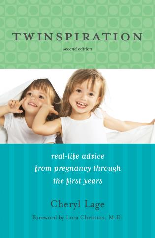 Cover image for the book Twinspiration: Real-Life Advice from Pregnancy through the First Year and Beyond, 2nd Edition