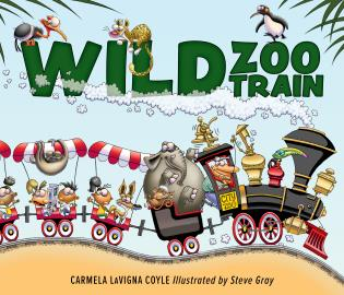 Cover image for the book Wild Zoo Train