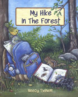 Cover image for the book My Hike in the Forest