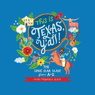 Cover image for the book This is Texas, Y'All!: The Lone Star State from A to Z