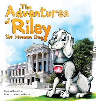 Cover image for the book The Adventures of Riley, the Museum Dog