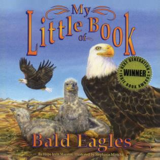Cover image for the book My Little Book of Bald Eagles