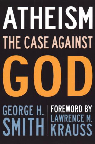 Cover image for the book Atheism: The Case Against God
