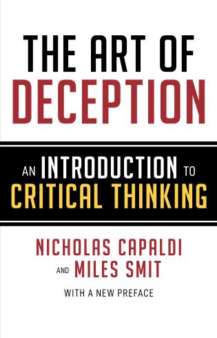 Cover image for the book The Art of Deception: An Introduction to Critical Thinking