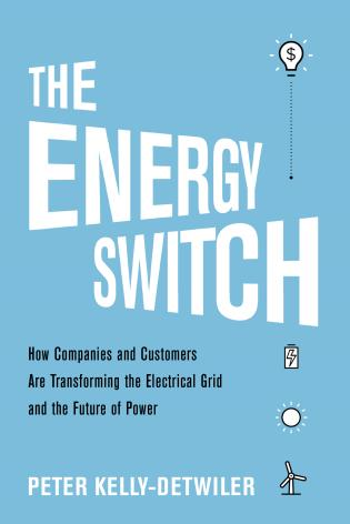 Cover image for the book The Energy Switch: How Companies and Customers Are Transforming the Electrical Grid and the Future of Power