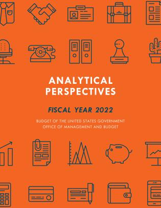 Cover image for the book Analytical Perspectives: Budget of the United States Government Fiscal Year 2022
