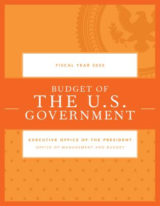 Cover image for the book Budget of the U.S. Government, Fiscal Year 2022