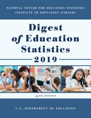 Cover image for the book Digest of Education Statistics 2019