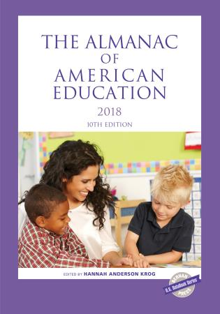 Cover image for the book The Almanac of American Education 2018, 10th Edition