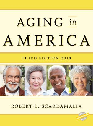 Cover image for the book Aging in America 2018, Third Edition