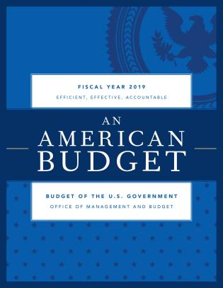 Cover image for the book Budget of the United States Government, Fiscal Year 2019: An American Budget