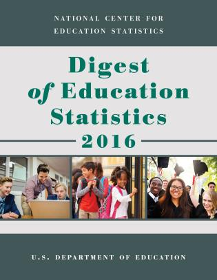 Cover image for the book Digest of Education Statistics 2016