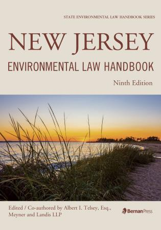 Cover image for the book New Jersey Environmental Law Handbook, Ninth Edition