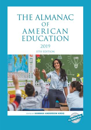 Cover image for the book The Almanac of American Education 2019, 11th Edition