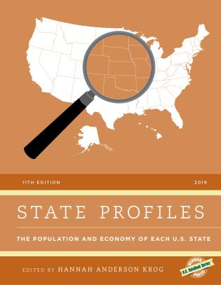 Cover image for the book State Profiles 2019: The Population and Economy of Each U.S. State, 11th Edition