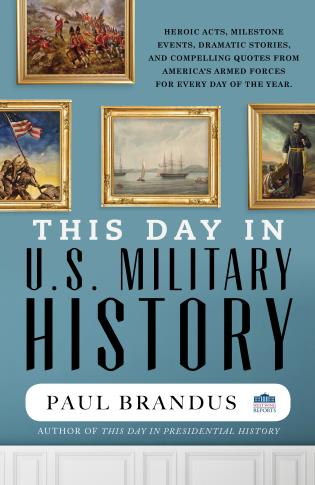 Cover image for the book This Day in U.S. Military History