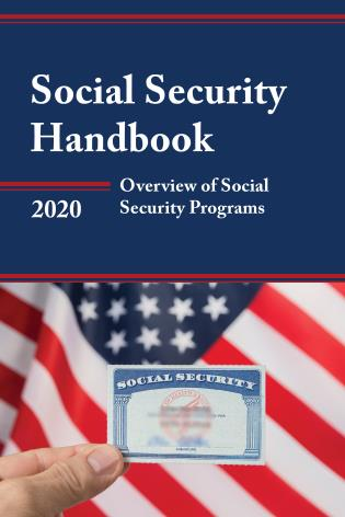Cover image for the book Social Security Handbook 2020: Overview of Social Security Programs