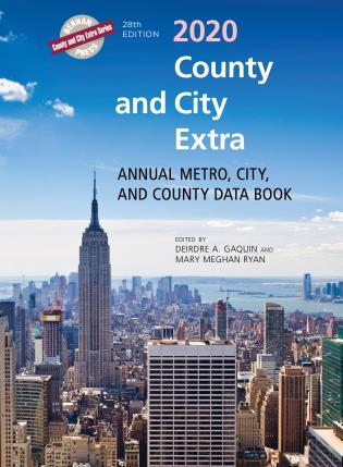 Cover image for the book County and City Extra 2020: Annual Metro, City, and County Data Book, 28th Edition