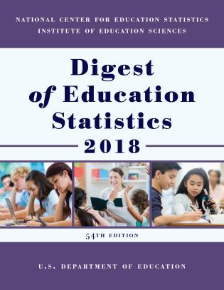 Cover image for the book Digest of Education Statistics 2018