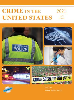 Cover image for the book Crime in the United States 2021, 15th Edition