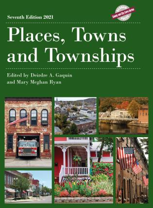 Cover image for the book Places, Towns and Townships 2021, Seventh Edition