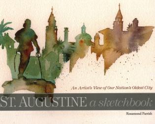 Cover image for the book St. Augustine: A Sketchbook