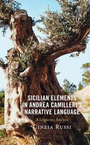 Cover image for the book Sicilian Elements in Andrea Camilleri's Narrative Language: A Linguistic Analysis