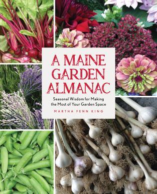 Cover image for the book A Maine Garden Almanac